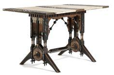 Carlo Bugatti table. #GISSLER #interiordesign