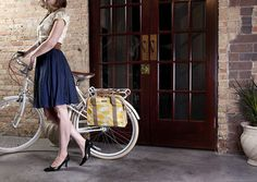 Loop Pannier by Po Campo - love their range of bike accessories