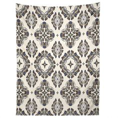 Andi Bird Butterfly Ornamental Beige Tapestry | DENY Designs Home Accessories
