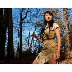 Cosplay.com - Footsteps of a stranger - Pocahontas - Havenaims ❤ liked on Polyvore featuring costumes, pocahontas, cosplay, disney, girls, pocahontas costume, role play costumes, blue halloween costume, pocahontas halloween costume and blue costume