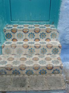 tiles in Marocco