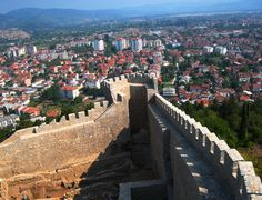 Samuil's Fortress is a fortress in the old town of Ohrid, Republic of Macedonia. It was the capital of the First Bulgarian Empire during the rule of Samuil in the middle-ages. Today, this historical monument is a major tourist attraction and was renovated in 2003.