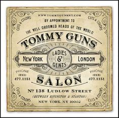 Vintage Typography Designs