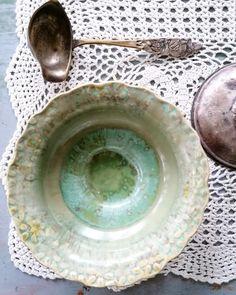 Wheelthrown pottery, ceramic bowl Ceramic Bowls, Pottery, Plates, Ceramics, Tableware, Vintage, Ceramica, Licence Plates, Ceramica