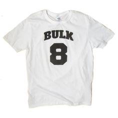 Bulk 8 T-shirt for the gym rat. Gym Rat, Weight Lifting, T Shirt, Tops, Supreme T Shirt, Tee Shirt, Powerlifting, Weightlifting, Lift Heavy