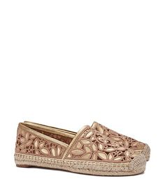 2204050c827388 Tory Burch Rhea Metallic Espadrille. Just received these and they