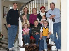 My cousins Maria and Tom and their families.... Love those guys