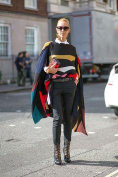 London Calling: Street Style Spring 2015  - HarpersBAZAAR.com - DIEGO ZUKO - Reposr