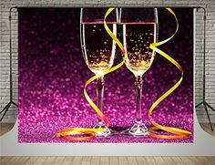 SUSU Purple Glitter Photography Backdrops Glass of Champagne Background for Photo Studio Shot Glitter Photography, Photography Backdrops, Glitter Backdrop, Glass Of Champagne, Birthday Backdrop, Purple Glitter, Studio Shoot, Photo Studio, White Wine