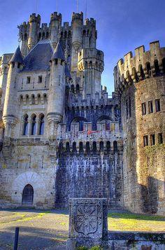 Castillo de Butrón, Gatika Vizcaya, Spain