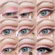 Makeup Madness Monday (32 photos) – theBERRY Pretty Makeup, Love Makeup, Diy Makeup, Makeup Tips, Beauty Makeup, Makeup Lessons, Photo Makeup, Makeup Tutorials, Makeup Ideas