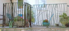 Metron Wrought Ironwork Bespoke Wrought Iron Products 3 Quite like this for the gate of alleyway?