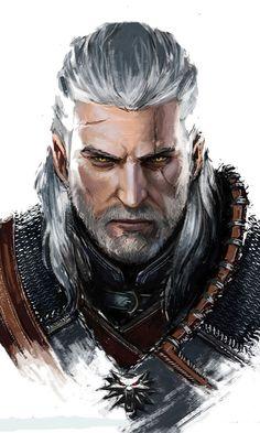 Geralt. The Witcher.