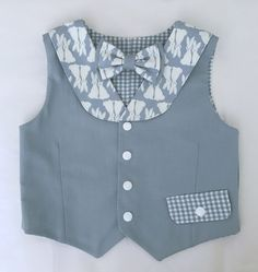 Bunny Blue Collared Vest and Bow Tie Set for Infants, Toddlers and Young boys by JTTogs on Etsy https://www.etsy.com/listing/493241274/bunny-blue-collared-vest-and-bow-tie-set