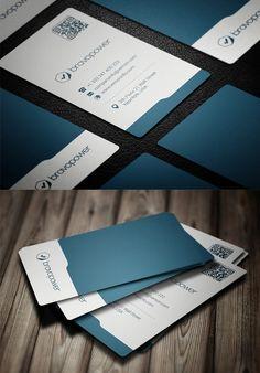 Corporate business card #businesscards