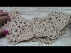 Como hacer canesu a crochet o ganchillo en todas las tallas / How to make canesu for girl dress - YouTube