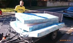Mattress removal in Houston Texas   This is a 5 year old mattress that was a gift to the couple who called us yesterday. There's a sentimetal value that's why it took them a long time to decide whether to remove it or not.