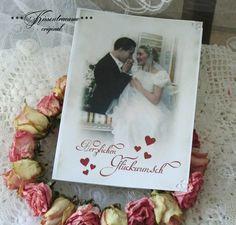 Hochzeitskarten - Karte zu Hochzeit - ein Designerstück von kissentraeume-original bei DaWanda