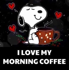 thank you soo much I Love Coffee, Coffee Art, My Coffee, Coffee Jokes, Snoopy Images, Snoopy Pictures, Snoopy Quotes, Joe Cool, Snoopy Christmas