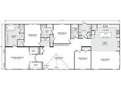 36edge28603ah clayton new and used single wide and for Kentucky dream homes floor plans