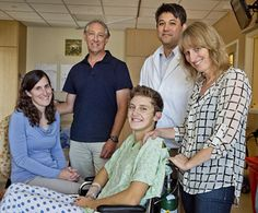 14-year-old Jordan of Bishop, Calif., is at home recovering from a life-threatening and rare infection with hantavirus