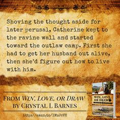 Win, Love, or Draw By Crystal L Barnes http://amzn.to/1MzJcVK