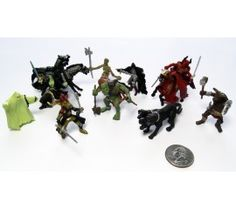 Mini Fantasy Tub (12 Piece); from Papo. Love that the weapons can be repositioned