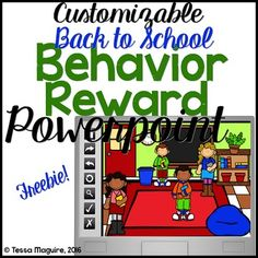 This Powerpoint Classroom Behavior Reward System is a fun way to reward and reinforce procedures and kick your classroom management up a notch! Display the Powerpoint and call students who exemplify the wanted behavior to choose a number. Each time a number is selected a random reward is shown.