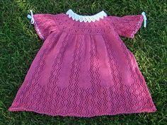 Ravelry: Linda Cyr Pembe boyunduruk Elbise Güzel Projesi Galeri desen