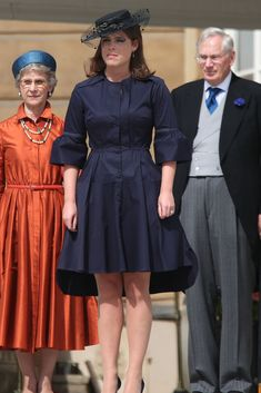 The 1 Little Detail That Took Princess Eugenie's Outfit From Ordinary to Extraordinary Princesa Eugenie, Princess Eugenie And Beatrice, Eugenie Wedding, Eugenie Of York, Sarah Ferguson, Navy Coat, Love Hat, Wedding Looks, Royal Fashion
