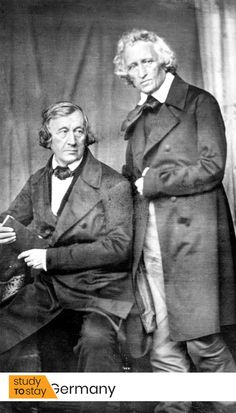 Wilhelm and Jacob Grimm, daguerreotype by Hermann Blow. Mystery of History Volume Lesson 47 O Grimm, Grimm Fairy Tales, Fables Comic, Les Fables, Witch History, Mystery Of History, Hermann Hesse, Dalai Lama, Germany