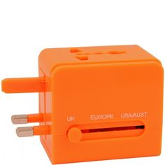 UNIVERSAL ADAPTER ORANGE