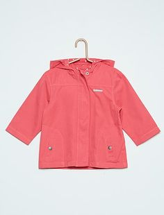 Parka met een capuchon $selectedProduit.getColorisLabel() Meisjes babykleding - Kiabi