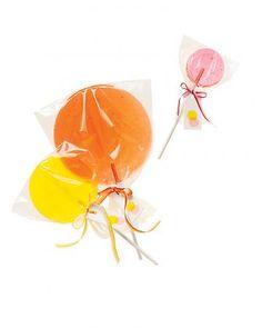 see-through lollipops