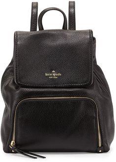 a6429bedd23c Kate Spade Cobble Hill Charley Leather Backpack. Kate Spade  BackpackBackpack StrapsBackpack BagsFashion BackpackBlack ...