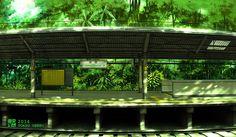 『新橋駅のホーム』