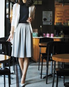 1268 Likes 9 Kommentare Chic. Chick (Chic Work Chick) auf In Office Fashion, Work Fashion, Modest Fashion, Fashion Outfits, Fashion Design, Womens Fashion, Fashion Goth, Uniqlo Women Outfit, Uniqlo Style