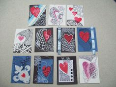 ATCs with Hearts & Zentangle http://www.rainwalker.org/wp-content/uploads/2011/02/ATC-1.jpg
