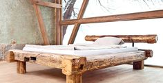 9 Impressive Clever Tips: Woodworking Easy Furniture woodworking workshop home made.Fine Woodworking Craftsman Style wood working for kids furniture plans. Bedroom Furniture Inspiration, Rustic Bedroom Furniture, Rustic Bedding, Log Furniture, Unique Furniture, Handmade Furniture, Furniture Stores, Furniture Ideas, Bedroom Rustic