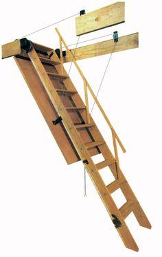 Bessler Folding Attic Stairs Model 70 Pulleys!!