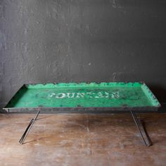 """Fountain"" Recycled Oil Drum Coffee Table- CARGO"