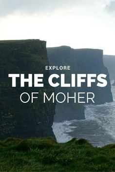 The Cliffs of Moher were absolutely breathtaking. They should definitely be on your bucket list! #cliffsofmoher #travel #ireland