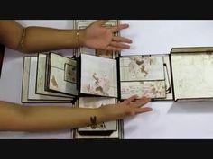 Art some craft: Prima Butterfly 3 D Album Diy Exploding Box, Mini Albums Scrap, Scrapbook Albums, Scrapbooking, Faux Painting, Explosion Box, Album Photo, Card Tutorials, Mini Books