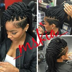 87 best Mohawk hairstyles for women images on Pinterest
