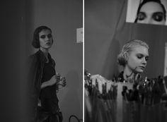 За кулисами шоу Ulyana Sergeenko Couture осень-зима 2014/15 #ulyanasergeenko #fw1415