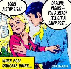 Pole dancer problems