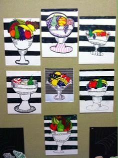 Lichtenstein Fruit Bowls