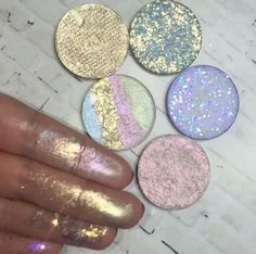 Iridescent Highlighter - Whimsical Beauty Products For All Your Unicorn Needs - Photos