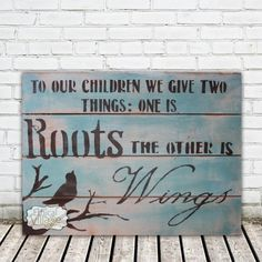 """Soo true!"" this rustic hand-made wooden sign says it all! Made by Ethical Village"