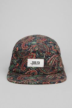Publish Seely Paisley 5-Panel Hat #urbanoutfitters